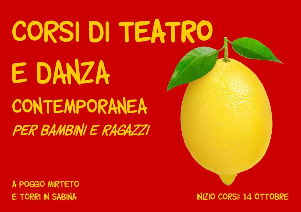Volantino Fronte Corso teatro bambini 2015 2016
